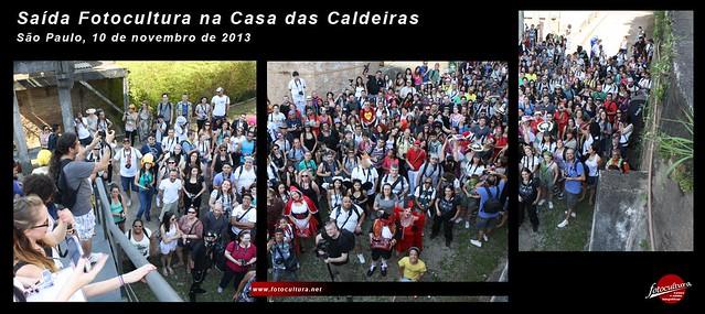 Foto oficial do 1º Encontro Fotocultura: Casa das Caldeiras