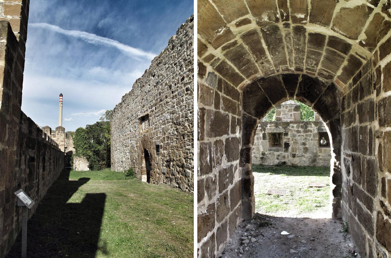 castillo de muñatones_muralla_petronor_restauración