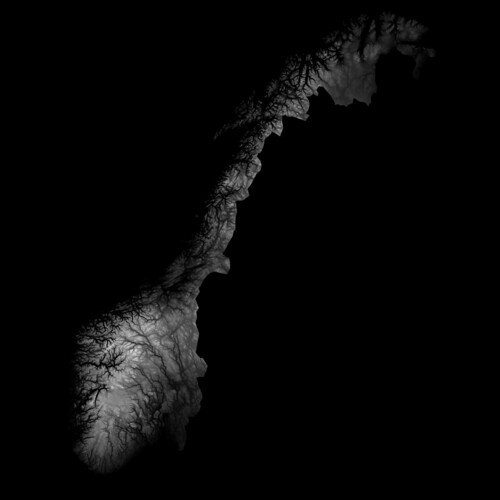 Norway heightmap