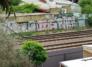View From Urban Railway Tracks - similar the world over