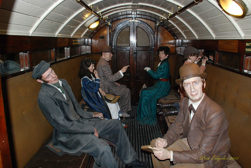 "1890 City & South London Railway ""Padded Cell"" Coach"