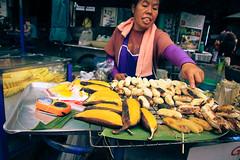 Bangkok Bananas / vendeuse de bananes