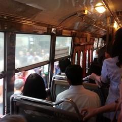 แท็กซี่ไม่มี มอร์ไซค์ไม่มีต้องขึ้นรถเมล์ เพราะบีทีเอสเสียระบบไปเรียบร้อยแล้ว Rest in peace BTS