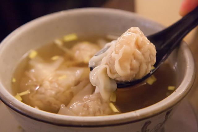 Shrimp wonton soup, Noodle Village