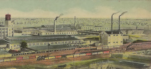 SE Detroit MI AUTOMOBILE INDUSTRY 1918 early CADILLAC Motor Car Co early GM Plants & Facilities GMs 2nd automobile operations behind BUICK GM purchased the Cadillac in 19094