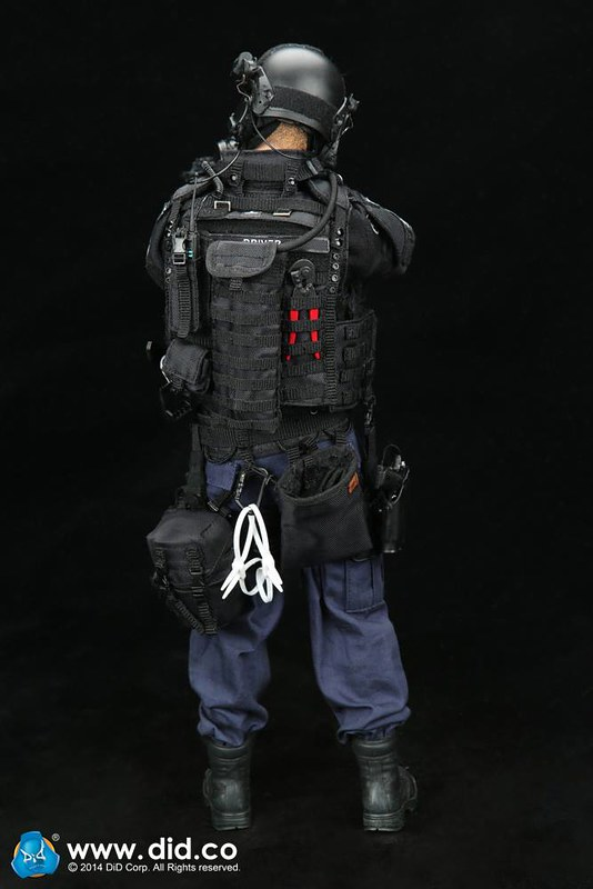 1 6 Did Lapd Swat Assaulter Driver Sixth Scale Figure