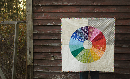 Color Wheel in fabric