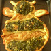Spinach & onion Bee by bego vega
