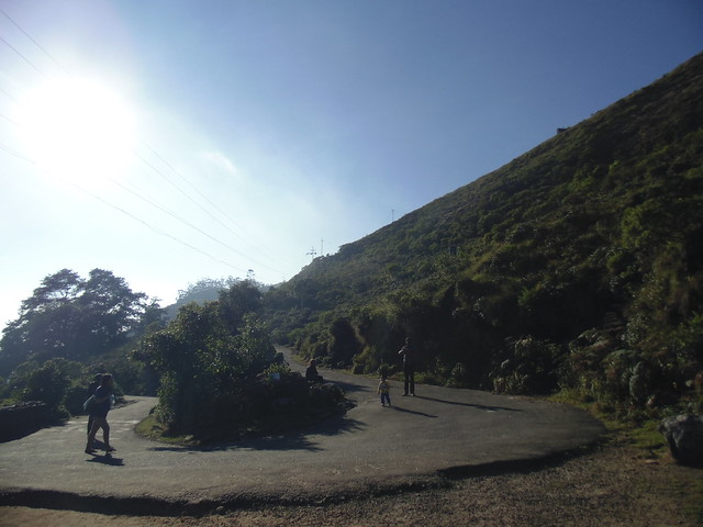 U-turn of hilly roads in Eravikulam Nationa Park, Munnar