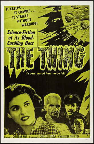 The Thing from Another World (RKO, 1951). Poster