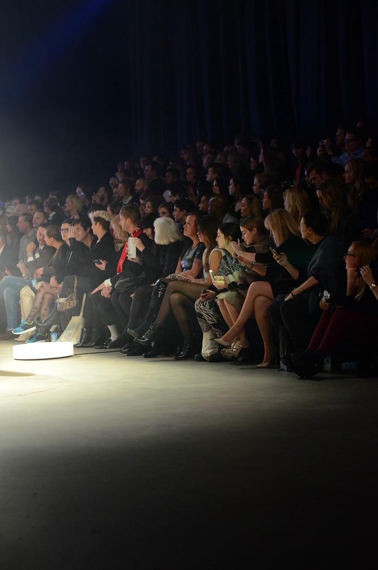 DSC_1449 Rinde Wienstra Frontrow, Amsterdam Fashion week 2014