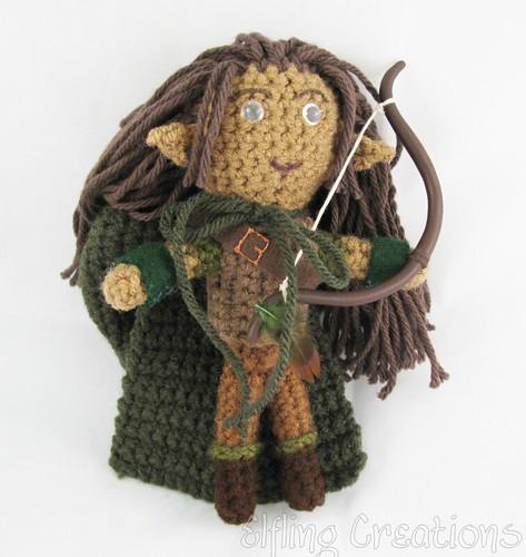 D&D Elf Ranger Plushie