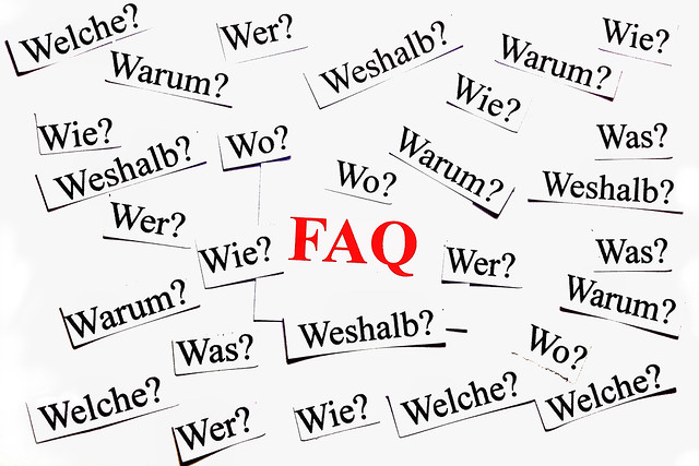 FAQ Frequently Asked Questions 46/365 from Flickr via Wylio