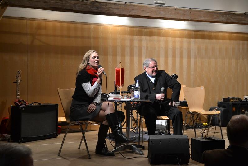 Neujahrsempfang 2014 mit Anselm Bilgri, Julia Ney und Susanne Mörtl