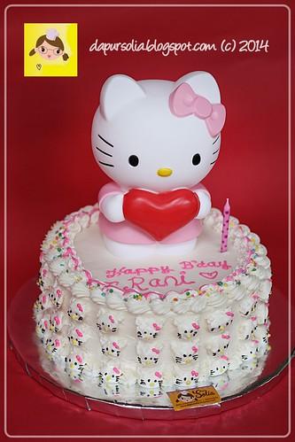 Dapur Solia Hello Kitty Cake For Rani
