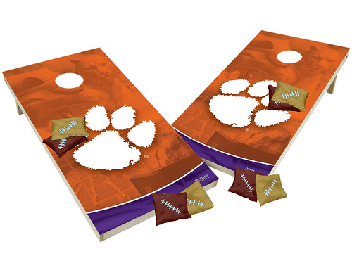Clemson Custom Cornhole Boards XL