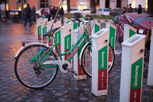 Bikesharing; copyright 2014: Georg Berg