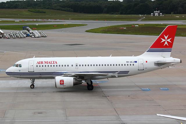 Air Malta - A319 - 9H-AEJ (1)