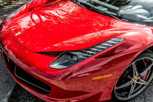 Ferrari 458 detail by joeeisner