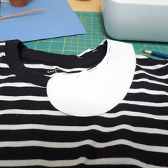 How to Add a Peter Pan Collar to a T-Shirt