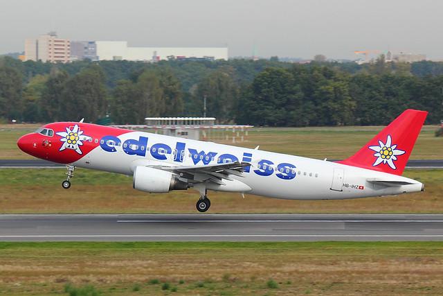 Edelweiss - A320 - HB-IHZ (1)