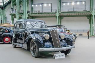 1936 Lancia Astura 3e série Tipo 233 berline ministérielle - Sold for €40,166