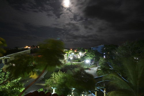 moon night clouds palms cuba windy resort ilobsterit