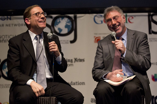 Evan Smith (Texas Tribune) and Martin Baron (Exec Director, Washington Post). Why We Should be Optimistic About Journalism.