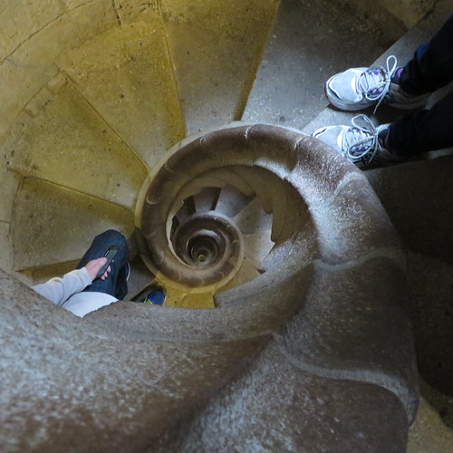 Sagrada Familia Nativity Staircase