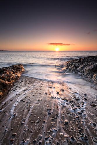 Coastline near the Hill of Tara, Co. Wexford.