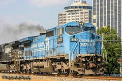 NS 8438 | GE C40-8W | NS Memphis District