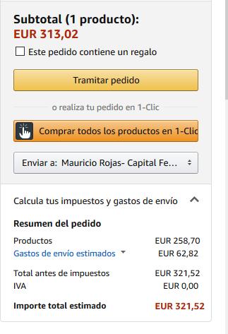 ¿Productos en Amazon sin Gastos de Importacion?