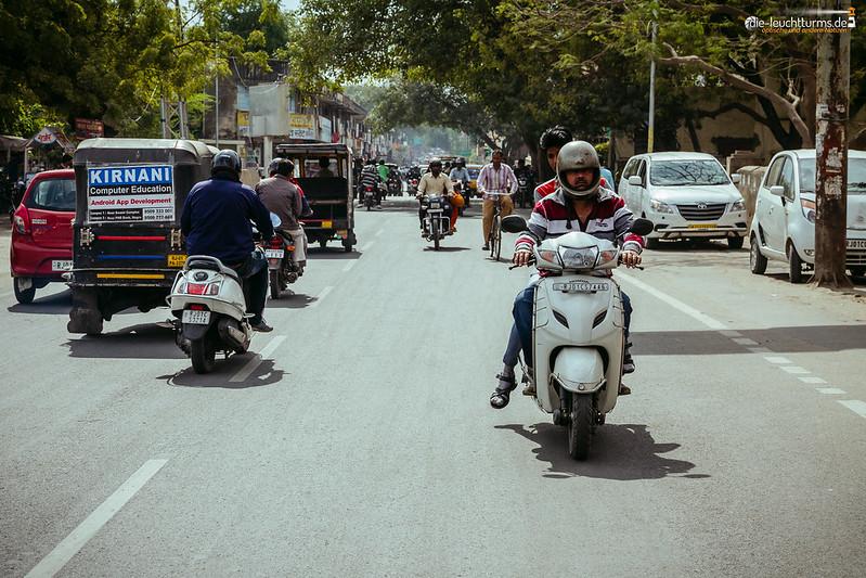 Ajmer city traffic