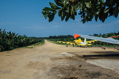 Crop-Dusting Planes on Runway, Riohacha Colombia