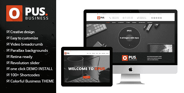 Opus WordPress Theme free download