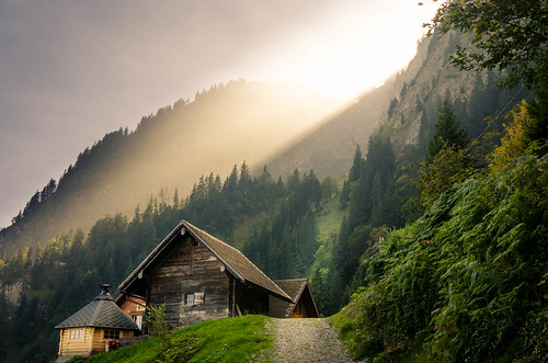 alpinefarmhouse switzerland hergiswil cantonnidwalden alpgschwänd forest mountain nidwalden schweiz che