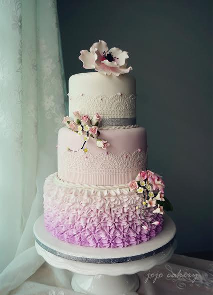 Cake by Joan Bong of JoJo Cakery