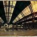Ciutat de Barcelona.  Fotografia Infraroig (photography infrared). Espectre Complet (fullspectrum). Filtre IR 680nm. Panoràmica de 5 preses verticals.  Josep Vidal.