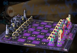 棋盤上的正邪大戰!The Noble Collection 「蝙蝠俠西洋棋」Batman Chess Set
