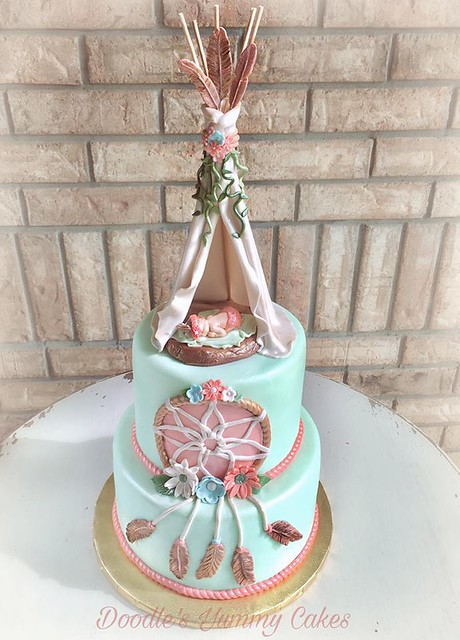 Cake by Doodle's Yummy Cakes