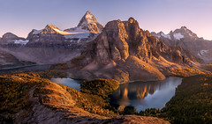 Mt Assiniboine by Tim Shields