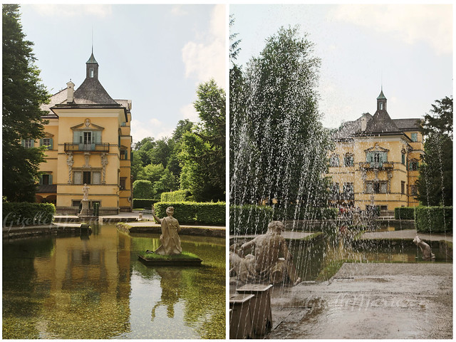 hellbrunn villa fountain