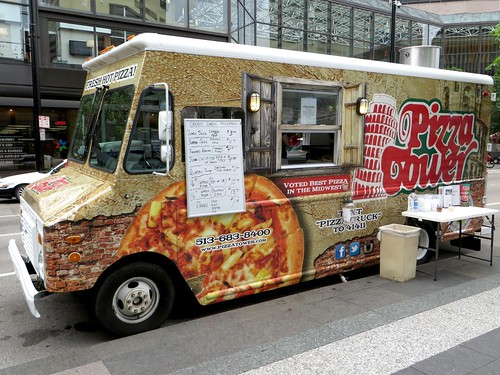 Pizza Tower Pizza Truck