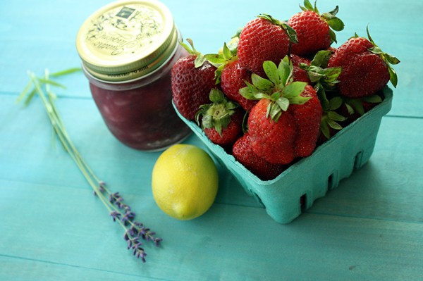 Strawberry Lavender Jam | Love & Flour
