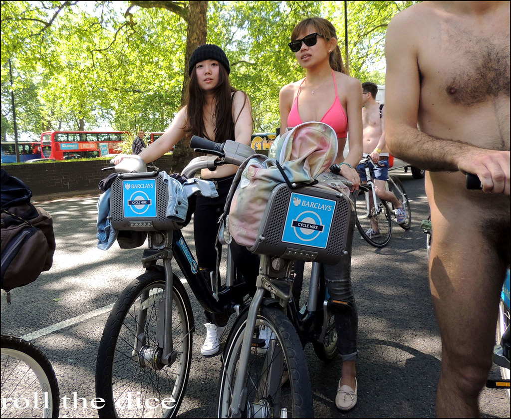Opinion you cfnm naked bike ride london