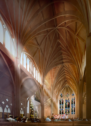 Christchurch Cathedral option 2 interior