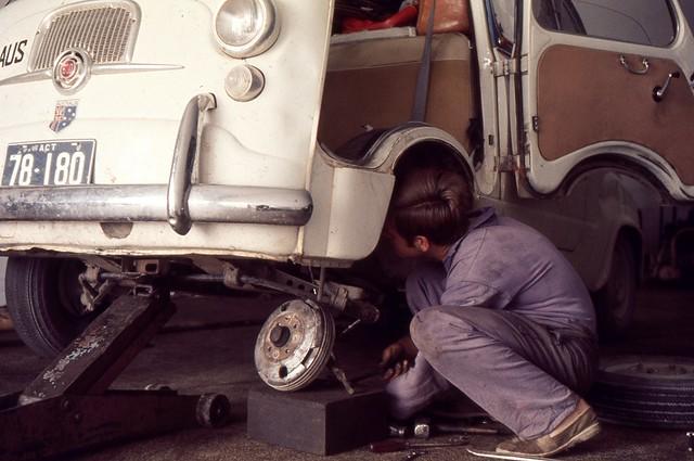 Repairs, Otranto, 1969