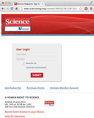 """A human right to science"" (exclusively available to @ScienceMagazine subscribers) another #OpenAccess Irony Award"
