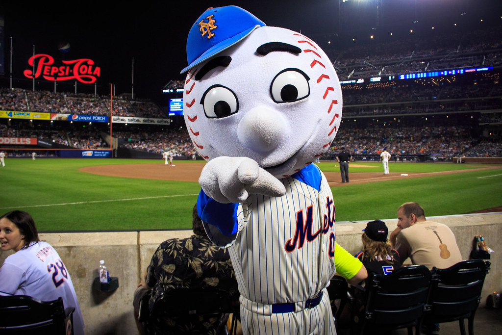 Meeting Mr. Met