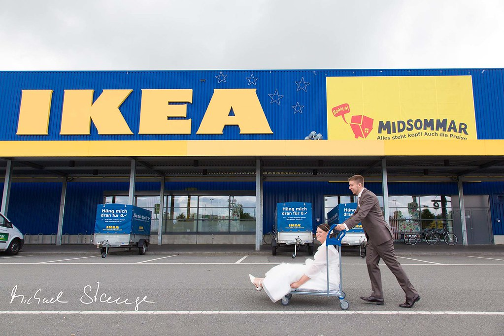 wedding shooting bei ikea michael stange fotograf aus. Black Bedroom Furniture Sets. Home Design Ideas